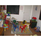 beaucoup de jouets au moulin Piongo (gite isère)