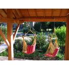 les mini hamacs du pool house (gite rhone alpes)