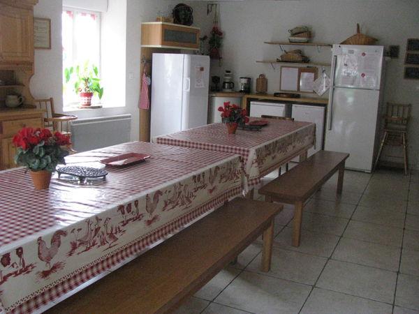 cuisine du gîte (gîte rhone alpes)