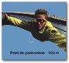 Le saut à l'élastique à Ponsonnas (à 90km)